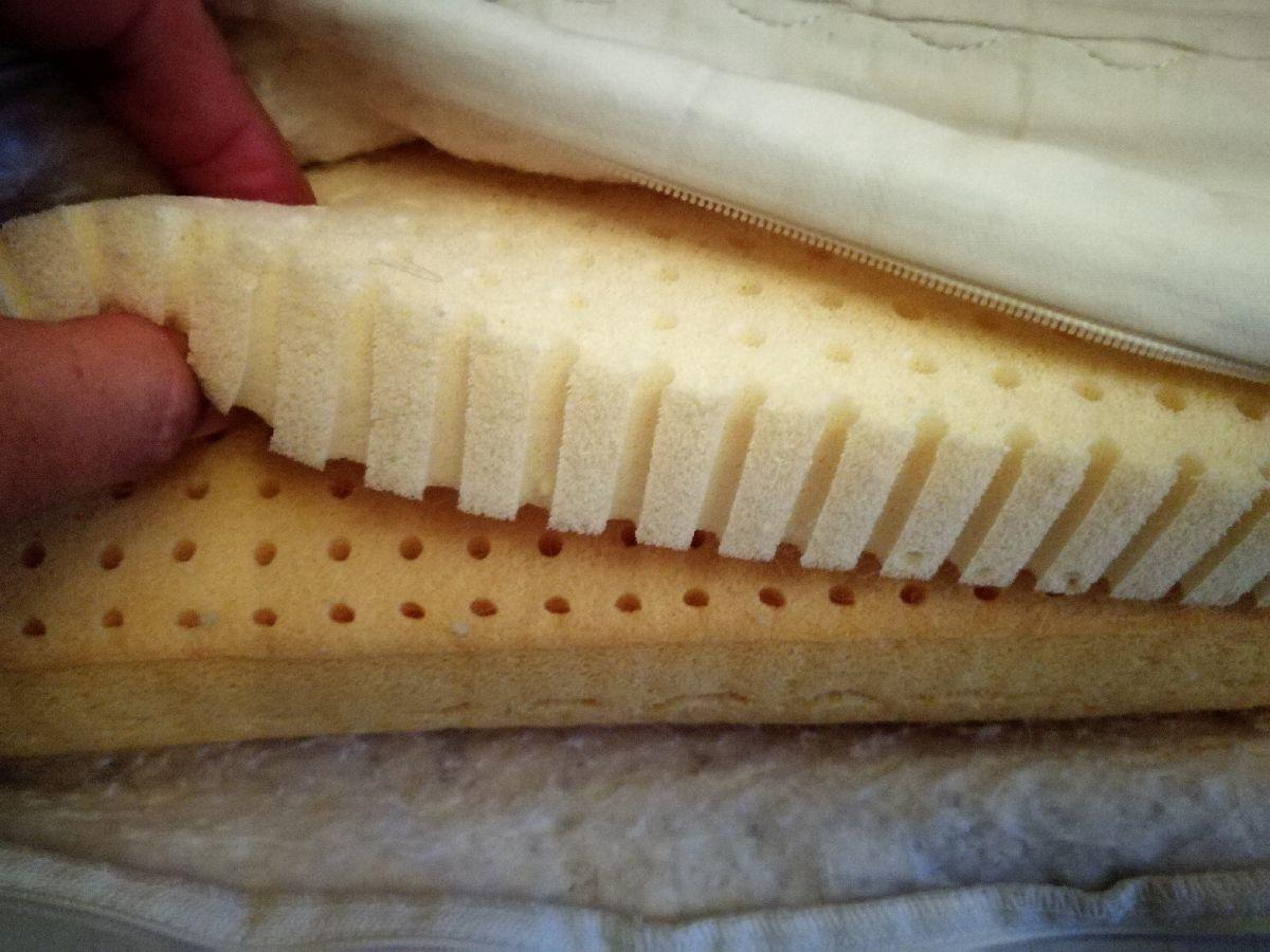 Nackenkissen mit 2 Viscoschaum Schichten